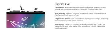 Dell 7000 7491 camera mics