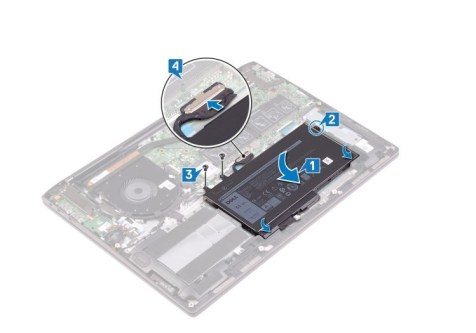 Dell 7000 7491 replace battery