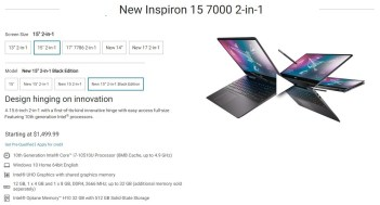 Dell Inspiron 7491 7000 Series 2 in 1 Laptop2