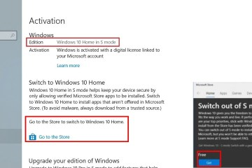 How To Switch Out of Windows 10 S Mode to Windows 10 Home Pro store