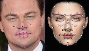 deep fake facial polygon triangles