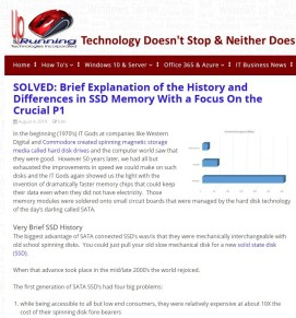 Crucial P1 SSD Review