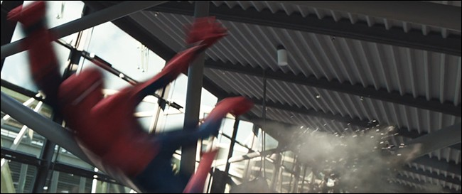 motion blur spiderman