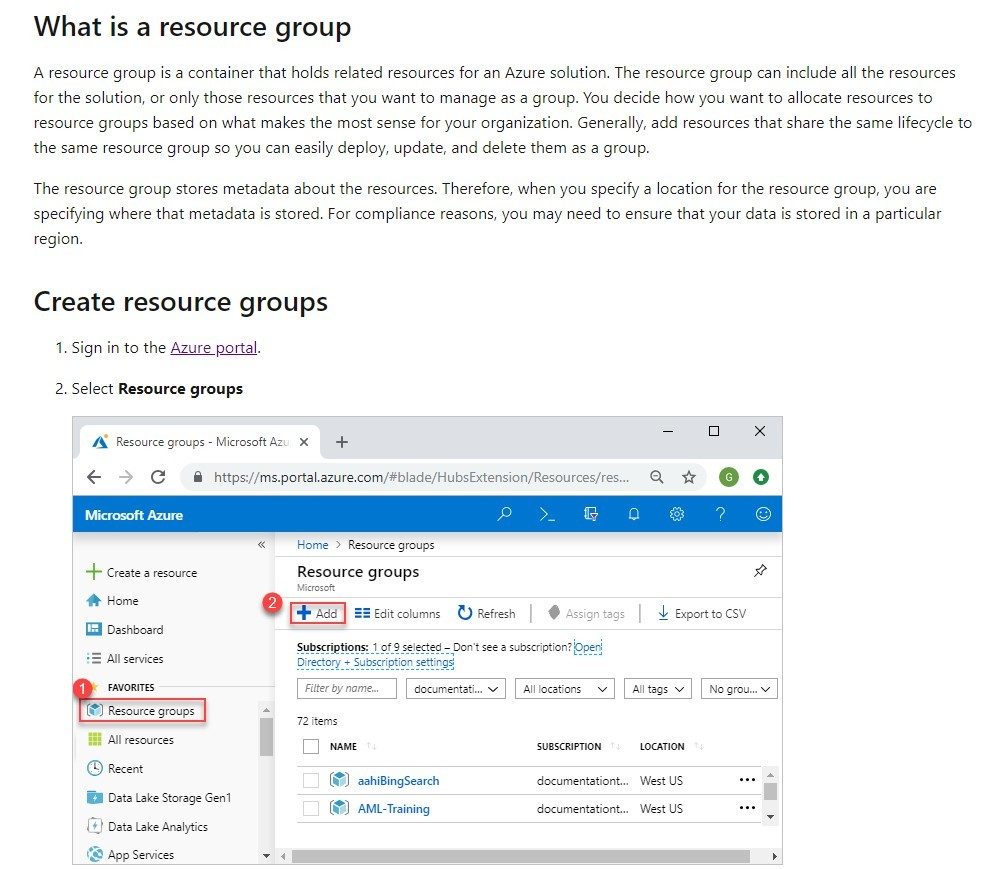 what is a resource group