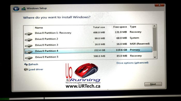 Windows 10 Partitions Explained