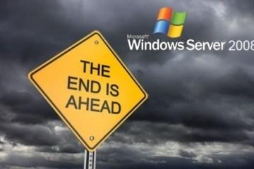 Windows-Server-2008-R2-the end