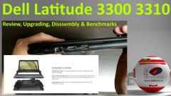 Dell Latitude 3300 3310 Benchmarks upgrade disassembly