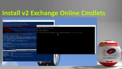 Install v2 Exchange Online Commandlets