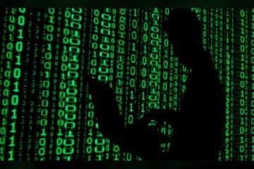 hacker shadow green binary numbers - pdos