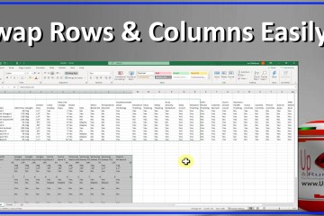 SOLVED: VIDEO: Easily Swap Rows & Columns in Excel