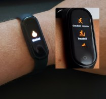 change the order of workout items on amazfit band5