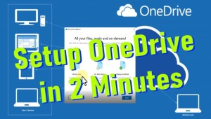 Quick OneDrive Setup and Limitations