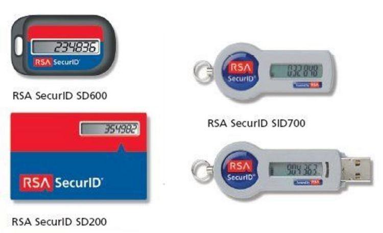 rsa keys SecurID SD600 SID 700
