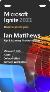 MS Ignite 2021 digital pass