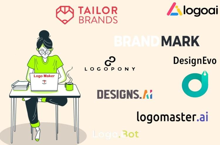 best logo maker tailor logoai brandmark logopony designevo logobot designsai