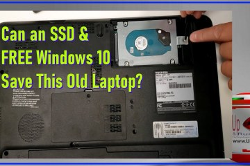 Can an SSD and Fresh Windows 10 Save An Old Toshiba Laptop From the Landfill