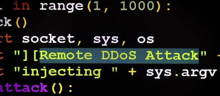 ddos attack code