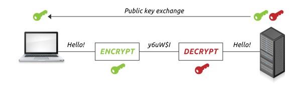 how ssl works public-key