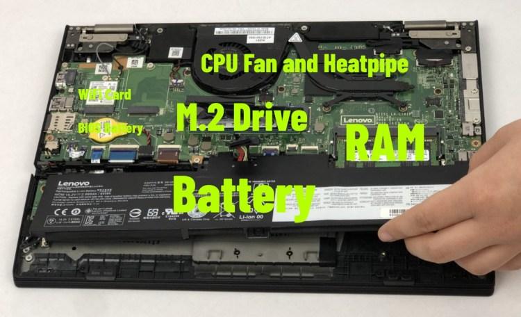 lenovo 370 battery m2 drive ram wifi motherboard upgrade