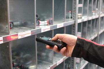 inventory management scanner scanning