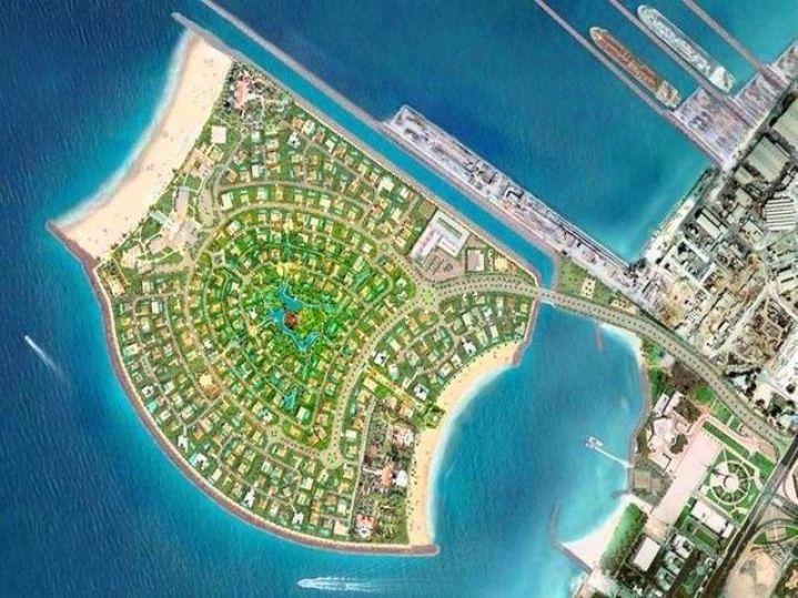 جزر دبي السياحية الامارات