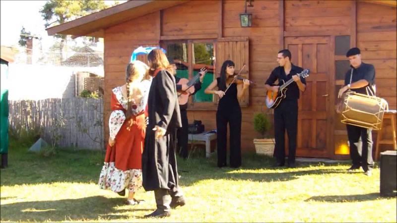 Grupo folclórico Pinamareños del norte
