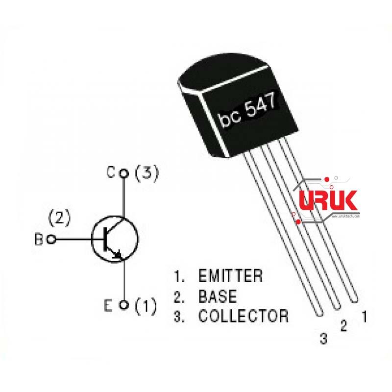 bc547 transistor npn