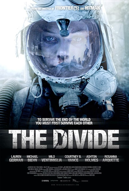 Cartel de The Divide de Xavier Gens