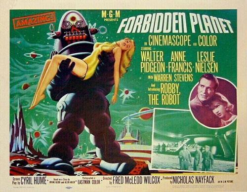 Otro cartel de Forbidden Planet