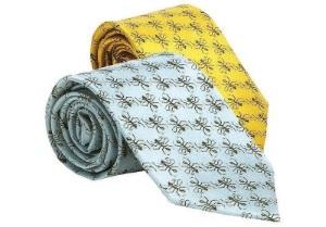 シルクのネクタイ
