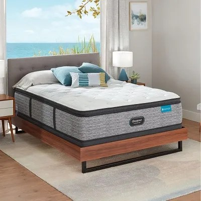 simmons beautyrest harmony lux hlc 1000 medium pillow top 15 75 inch full mattress only