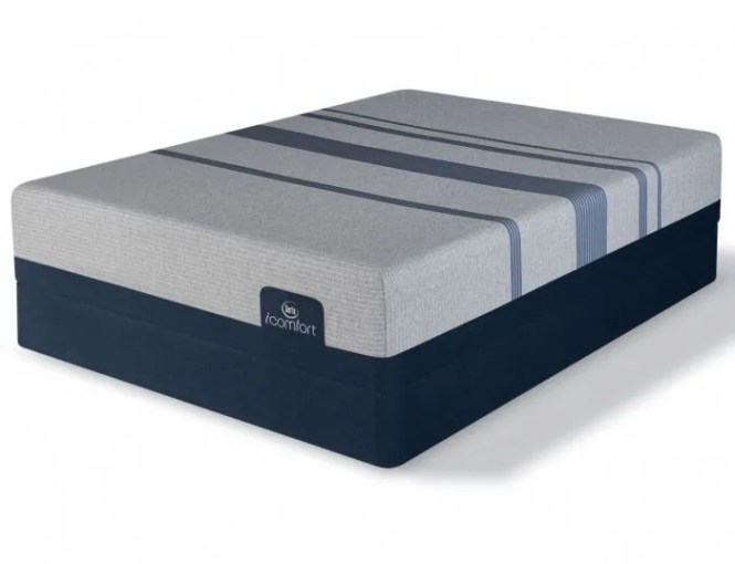 Queen Serta Icomfort Blue Max 1000 Plush Mattress Free 300 Visa Gift Card