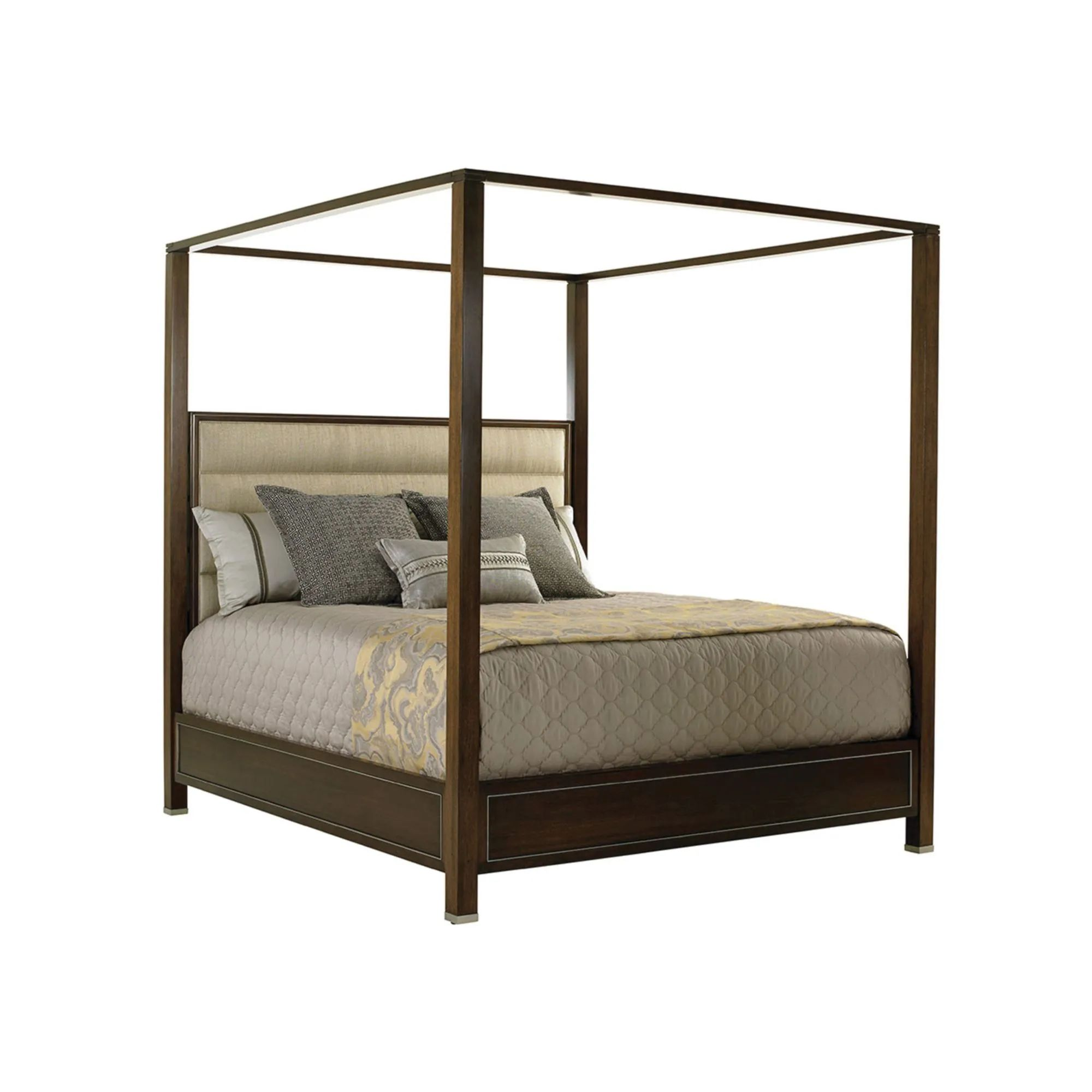 lexington macarthur park terranea king size poster bed
