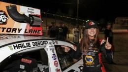 Hailie Deegan contrainte de s'excuser après un dérapage lors d'une course en ligne