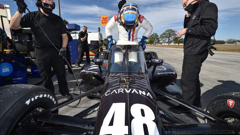 Jimmie Johnson IndyCar Sebring