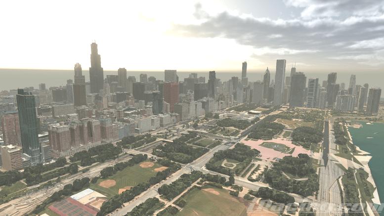 Une course urbaine à Chicago ?
