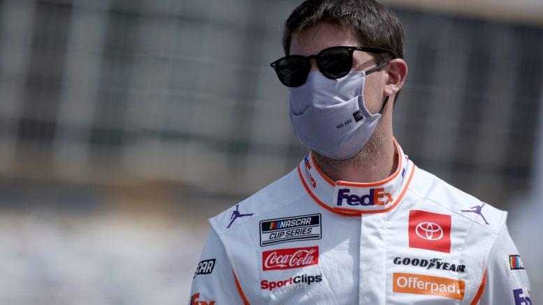 Denny Hamlin en pole à Talladega