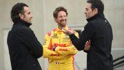 Grosjean et Johnson satisfaits de leurs essais