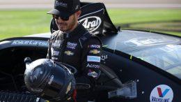 Kyle Larson en pole au Texas