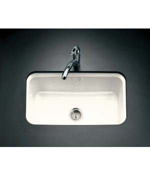 Bakesrfield™ undercounter sink with Installation kit