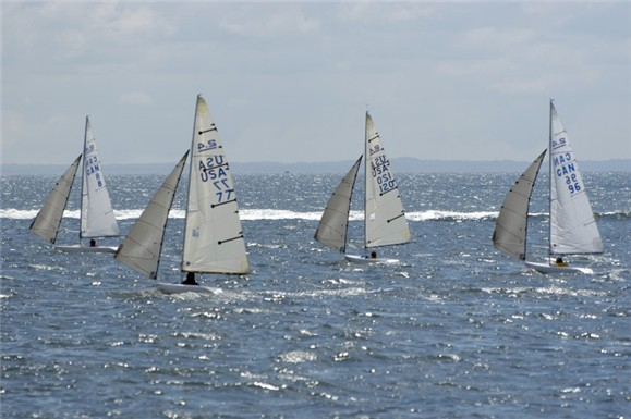 The masts tip forward going downhill