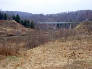 Looking Through the Old South Fork Dam