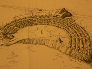 Imagined Drawing of Poverty Point