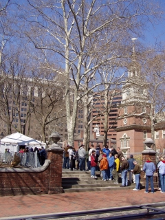 Long Wait at Independence Hall