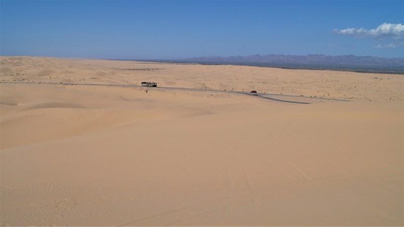 kalifornische Wüste Imperial Dunes