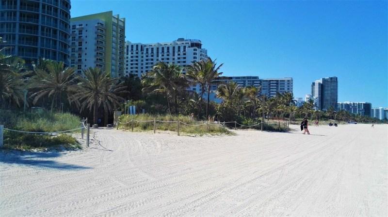 Weißer Strand Miami