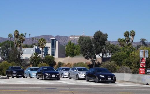 Los Angeles Hollywood - Verkehrsregeln in den USA
