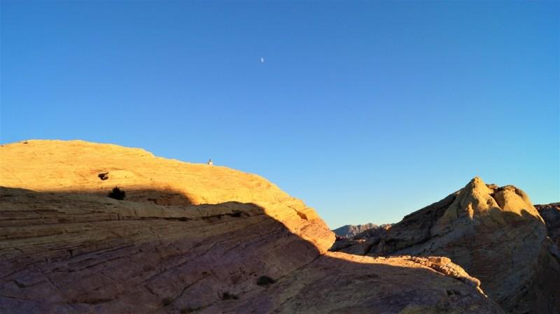 Sonnenuntergang in Nevada