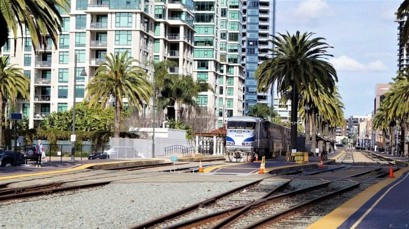Santa Fee Depot in San Diego