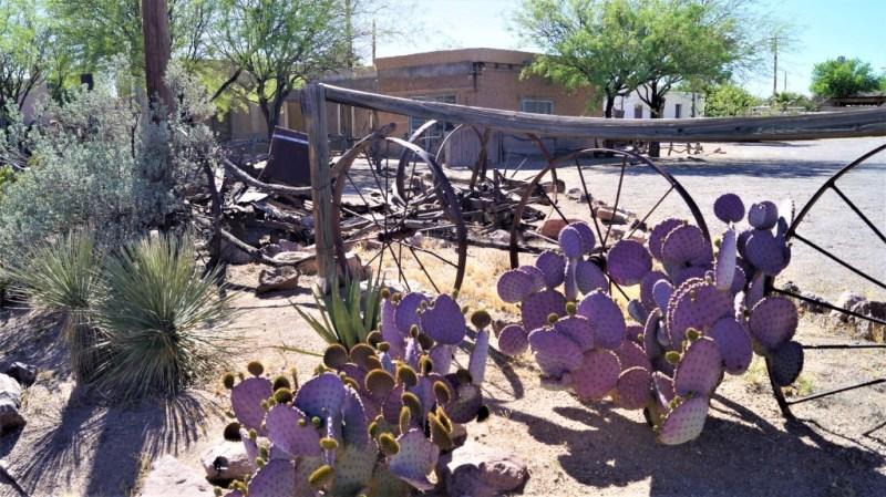 Mesilla ist ein fröhliches kleines Städchen bei Las Cruces